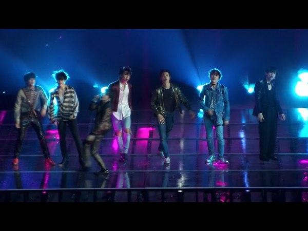 BTS (방탄소년단) 2018 BBMAs Fake Love Live performance Raw fancam