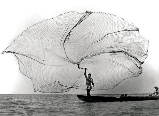Рыбак Колумбия, 1945