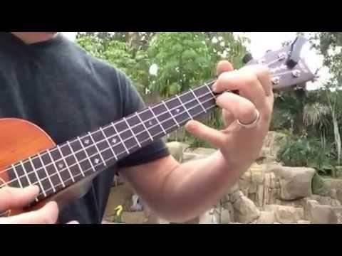 Up Theme on ukulele