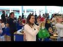 Флешмоб в Тольятти дети поют гимн России в супермаркете