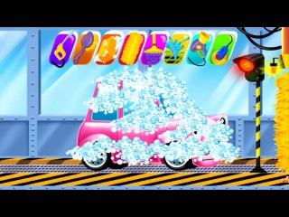 Car Wash and Spa game. Kids Videos. АВТОМОЙКА. Моем машинку.