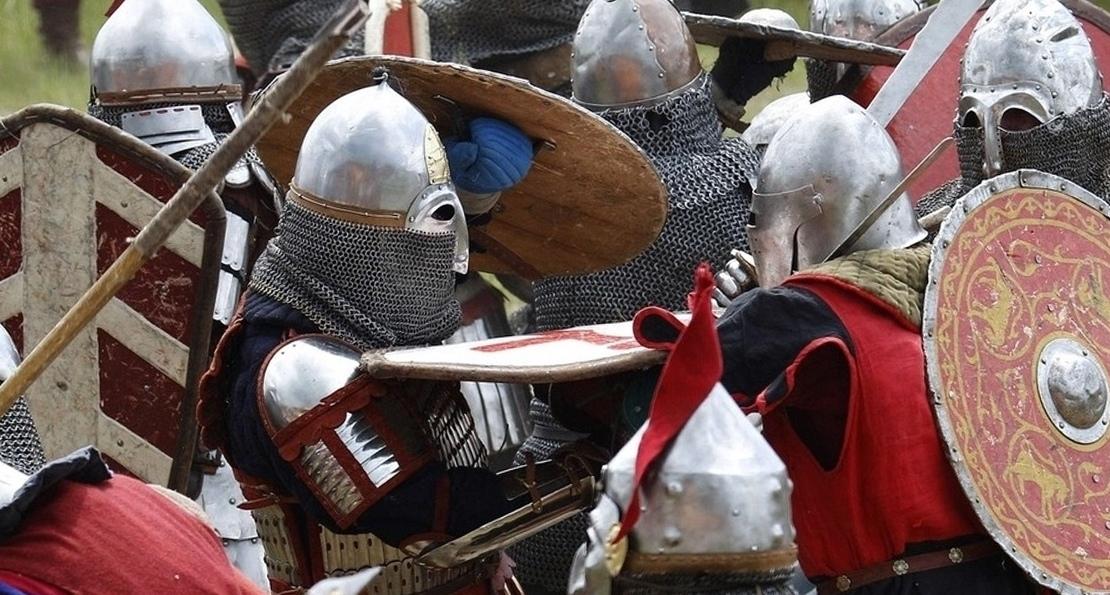 Бой воинов