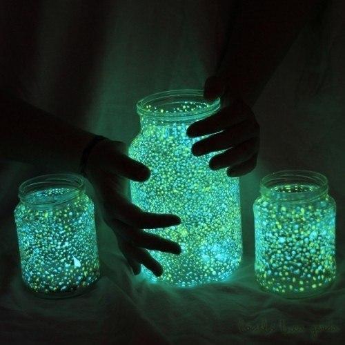 Делаем волшебную светящуюся банку своими руками