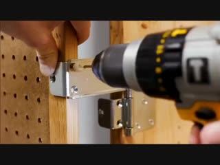 Крутая идея полки для хранения инструментов