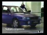 Реклама SUBARU IMPREZA WRX WRC 4WD 1998 BRASIL BRAZIL