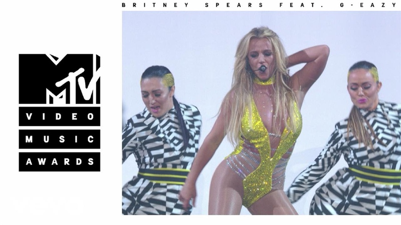 Britney Spears - Make Me... / Me, Myself I (Live from the 2016 MTV VMAs) ft. G-Eazy