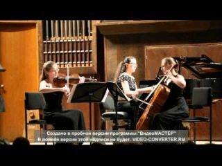 �.����������,�.������������,�.�������� �.����� Piano Trio No.2, Op.87 III �