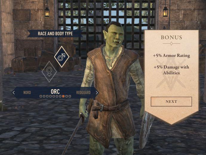 Орки в The Elder Scrolls Blades