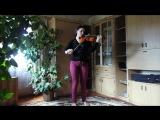Играет Анастасия Луфер. Скрипка.  Телеман Георг Филипп. Фантазия для скрипки соло №10
