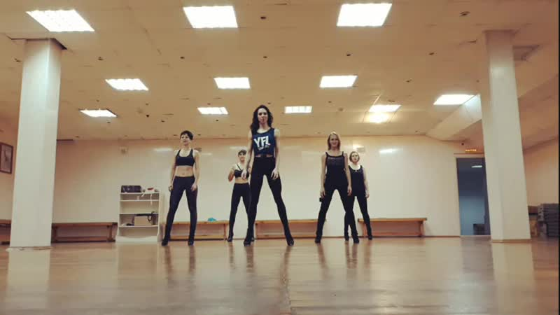 High Heels Choreo by Olya Rodionova | Fabio - Вдвоем