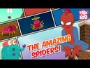 How Amazing Are Spiders! - The Dr. Binocs Show | Best Learning Videos For Kids | Peekaboo Kidz