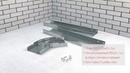 Монтаж кабельной трассы Способ установки углового лотка с возможностью регулировки угла поворота