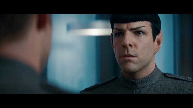 Star Trek Into Darkness - Kirk says I'm gonna miss you to Spock HD
