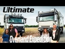 Overland Couples Travel in GLOBAL 4x4 Expedition Vehicle ► Tiny Living Mercedes Iveco