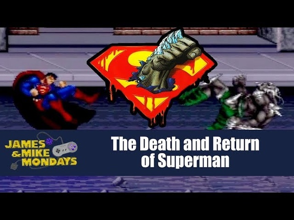 The Death and Return of Superman (SNES) James Mike Mondays