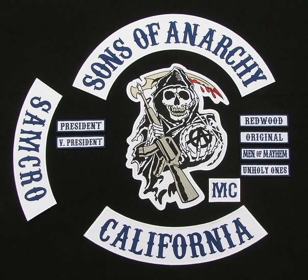 Атрибутика | Сыны Анархии / Sons of Anarchy / Дети
