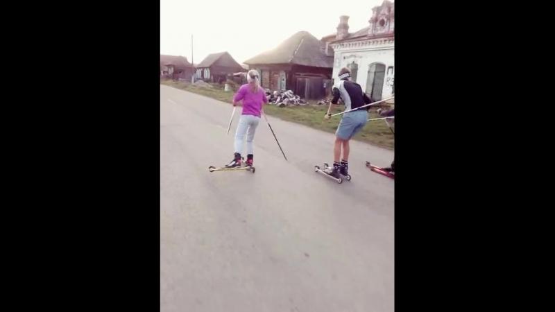офигенно класное видео_роллеры_тепло_октябрь