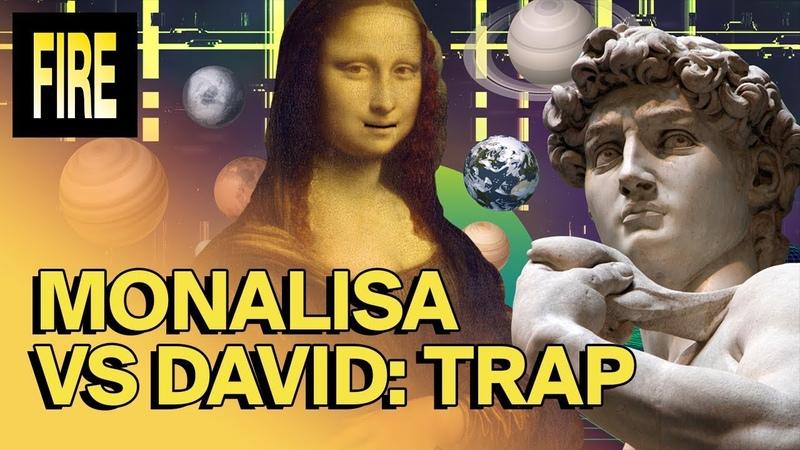 LUK AT MIH Mona Lisa VS David Gracias a este trap sabemos de quién se ríe La Gioconda