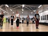 HIP HOP (продвинутые), тренировка в Puzzle (choreo by Artem Perminov)