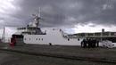 ВоВладивостоке подняли флаг нановом сторожевом корабле проекта Охотник Новости Первый канал