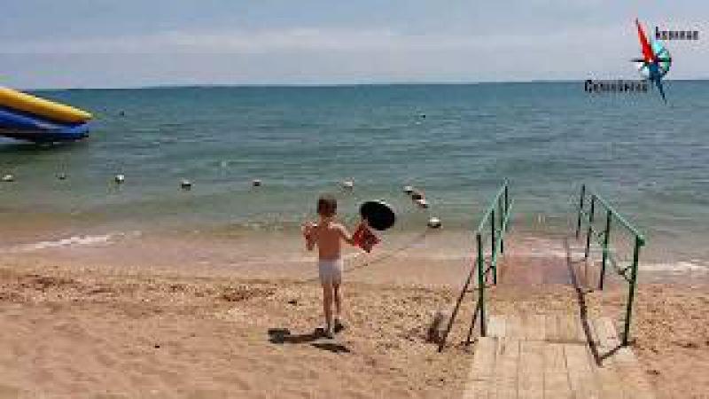 Поселок Героевское. Пляж