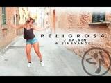 Zumba Peligrosa - J Balvin &amp Wisin y Yandel Reggaeton Choreo by Antonia Natascha