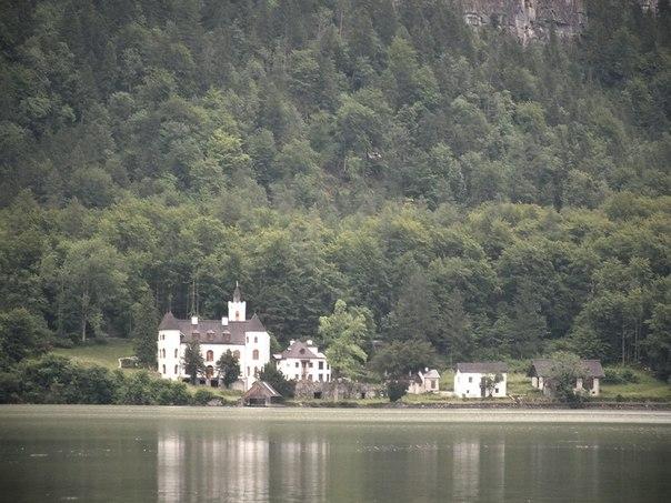 Замок на озере Гальштадт