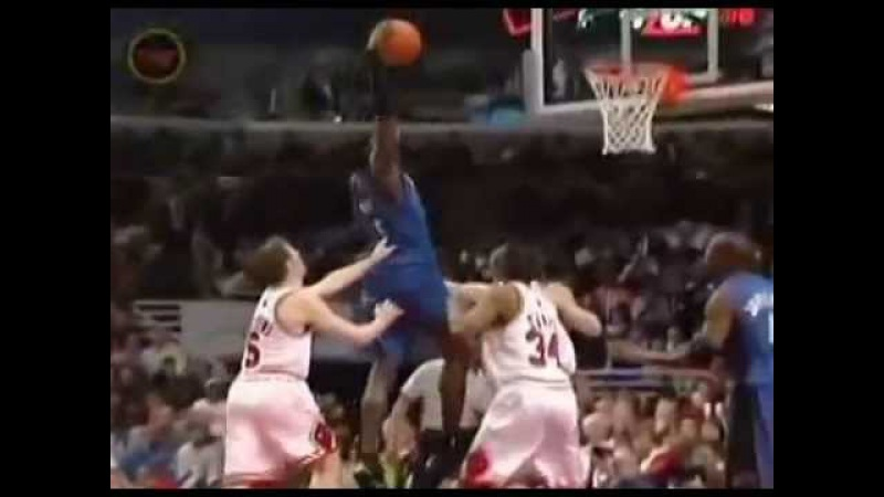 Kwame Brown Unbelieveble Slam!