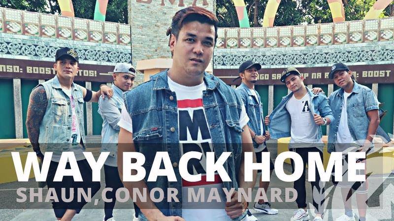 WAY BACK HOME by Shaun,Conor Maynard   Zumba   Pre Cooldown   TML Crew Gerry Oliva