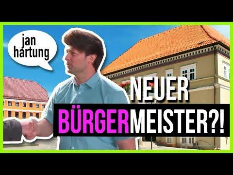 Mutbürgermeisterkandidat für Sondershausen: JAN HARTUNG