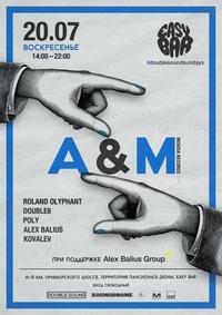 20.07 DOUBLE SOUND SUNDAYS: A&M (Movida Records)