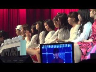 Джимин и АЕн смотрят выступление 2РМ на SBS Gayo Daejun