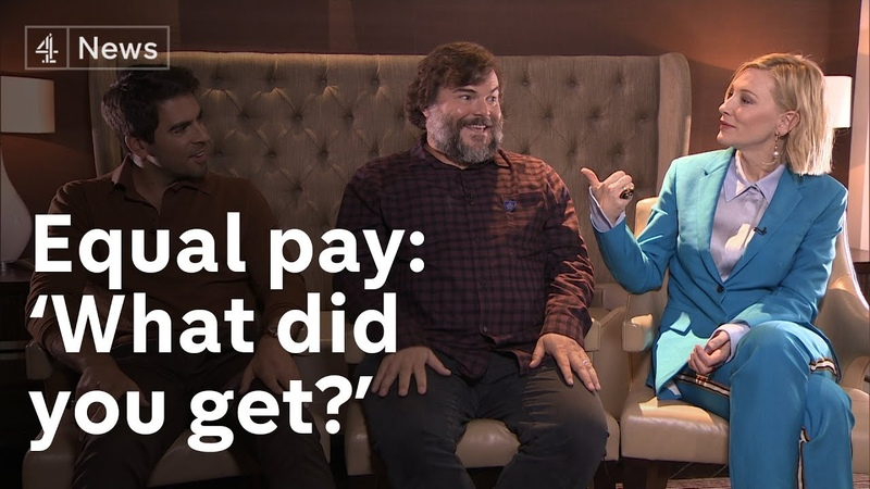 Cate Blanchett, Jack Black and Eli Roth on MeToo and equal pay