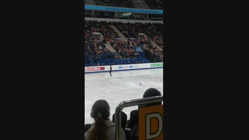 Deniss Vasiljevs (LAT🇱🇻) ИТОГОВОЕ 11 МЕСТО 219.50 points, тренер Stéphane Lambiel;