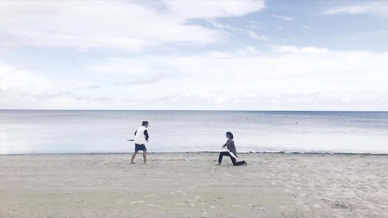 Песнь самурая, на берегу звучащая
