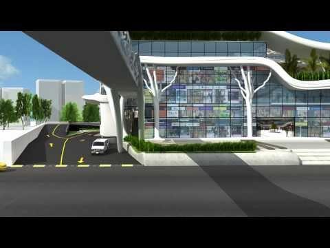 Vadodara's Mordenize Bus Teminal Develop by Sphere Cube Infrastructure Pvt. Ltd.