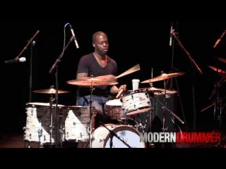 Drummer Greg Hutchinson Drum Solo Live at Drum Daze 2014