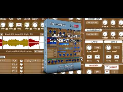 BLUE LIGHT SENSATIONS SOUND BANK | TAL SAMPLER | Synthcloud Library