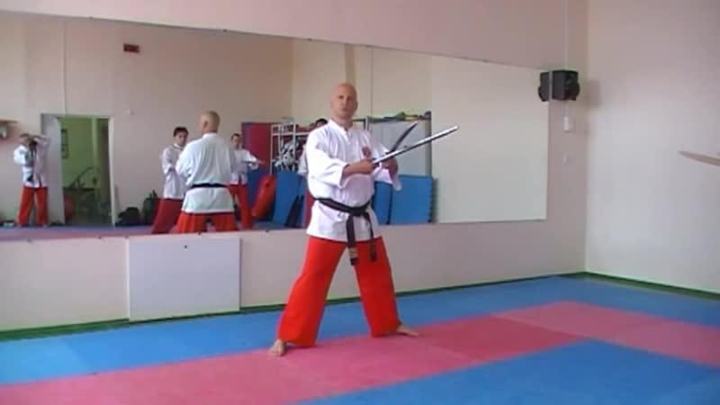 Таинг банши Семинар по базовой технике фехтования двумя мечами
