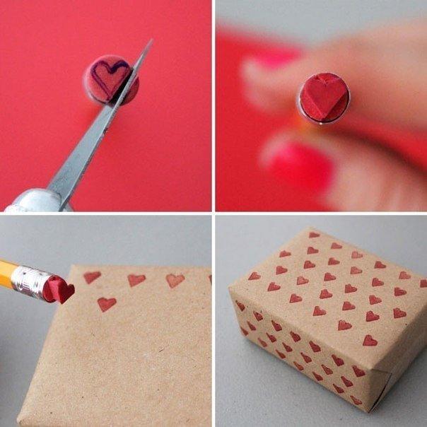 Как оригинально упаковать подарок (1 фото) - картинка