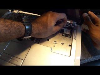 Как разобрать ноутбук Dell Inspiron 6400, E1505, 1501 Disassembly Часть 1