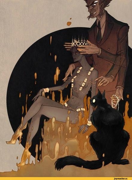 проснулась утром маргарита а воланда и след простыл и мастер рядом стал внезапно постыл © Azov