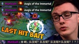 MIRACLE- the Aegis Snatcher + Insane Bait - Trying Hard with Templar Assassin Dota2