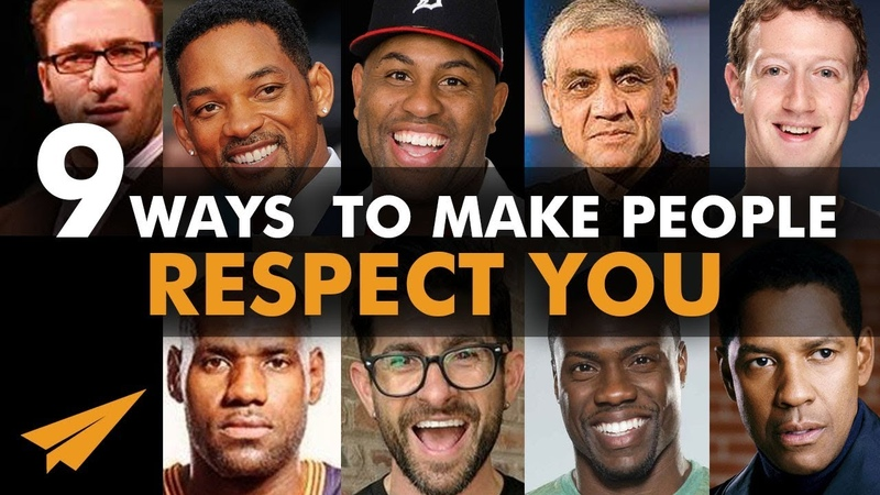 9 Ways to Make People RESPECT You IMMEDIATELY