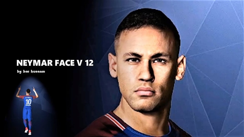 Neymar Jr Face V 12 by Ben Hussam