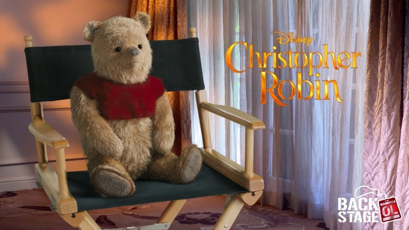 Christopher Robin Interview with Winnie the Pooh Eeyore Tigger Piglet