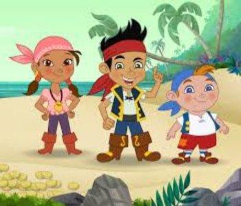 мультфильм джеки пираты нетландии