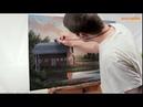 Vẽ tranh phong cảnh chủ đề Về ngôi nhà cũ