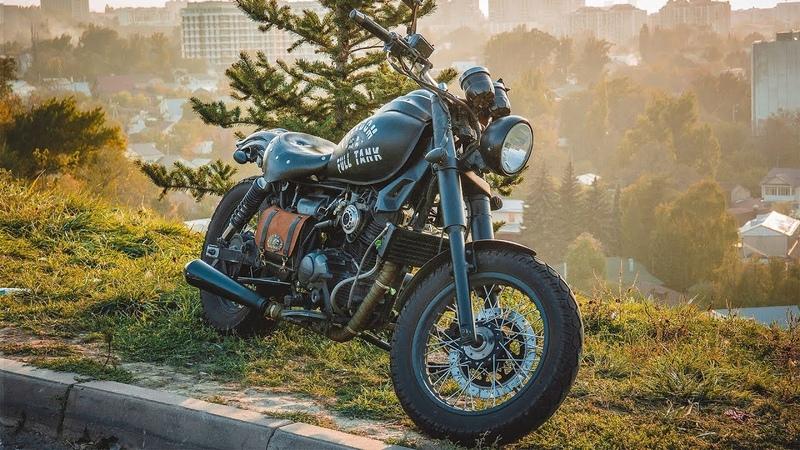 Тестдрайв | Мотопроект. китайский мотоцикл в кастом боббер