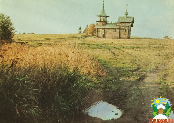 Остров Кижи. Часовня Михаила Архангела из деревни Леликозеро